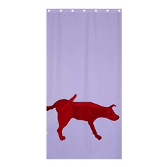 There is a dog.... Shower Curtain 36  x 72  (Stall)