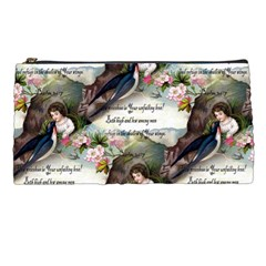 Vintage Valentine Postcard Pencil Case