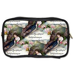 Vintage Valentine Postcard Travel Toiletry Bag (Two Sides)