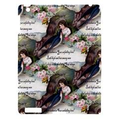 Vintage Valentine Postcard Apple iPad 3/4 Hardshell Case