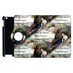 Vintage Valentine Postcard Apple iPad 3/4 Flip 360 Case