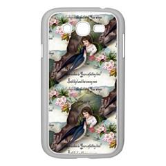 Vintage Valentine Postcard Samsung Galaxy Grand DUOS I9082 Case (White)
