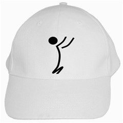 Cowcow Football Black White Baseball Cap
