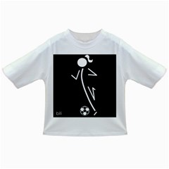 Cowcow Soccer Baby T Shirt