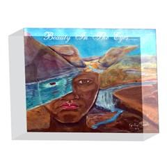 Beauty in the Eyes...... 5 x 7  Acrylic Photo Block