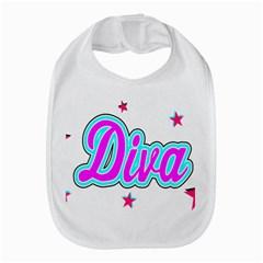 Pink Diva Bib