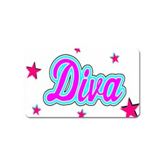 Pink Diva Magnet (Name Card)