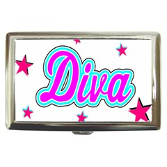 Pink Diva Cigarette Money Case