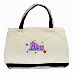 Pink Diva Classic Tote Bag