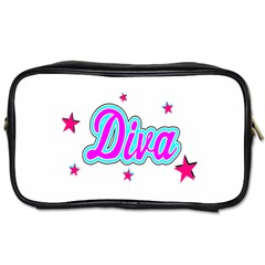 Pink Diva Travel Toiletry Bag (One Side)