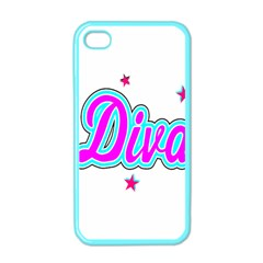 Pink Diva Apple iPhone 4 Case (Color)