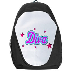 Pink Diva Backpack Bag