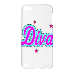 Pink Diva Apple iPod Touch 5 Hardshell Case