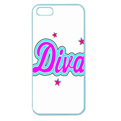 Pink Diva Apple Seamless iPhone 5 Case (Color)