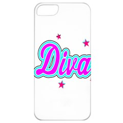 Pink Diva Apple iPhone 5 Classic Hardshell Case
