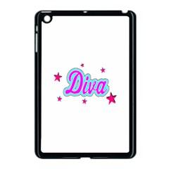 Pink Diva Apple iPad Mini Case (Black)