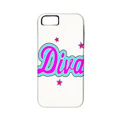 Pink Diva Apple Iphone 5 Classic Hardshell Case (pc+silicone)