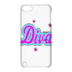 Pink Diva Apple iPod Touch 5 Hardshell Case with Stand