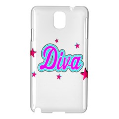 Pink Diva Samsung Galaxy Note 3 N9005 Hardshell Case