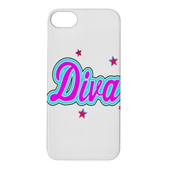 Pink Diva Apple iPhone 5S Hardshell Case