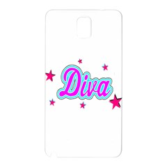Pink Diva Samsung Galaxy Note 3 Hardshell Back Case