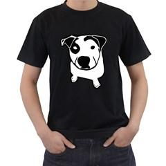 Pit Bull T-Bone Men s T-shirt (Black)