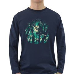 Post Meridiem Men s Long Sleeve T Shirt (dark Colored)
