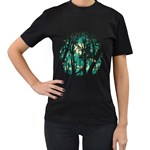 Post Meridiem Women s T-shirt (Black) Front