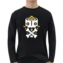 Gold Mind Men s Long Sleeve T Shirt (dark Colored)