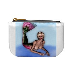 Mermaid On The Beach Coin Change Purse