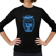 play with spider Women s Long Sleeve T-shirt (Dark Colored)
