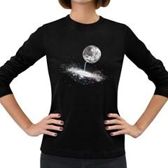 Luna s Way Women s Long Sleeve T Shirt (dark Colored)
