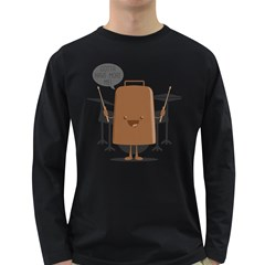 I Got A Fever    Men s Long Sleeve T Shirt (dark Colored)