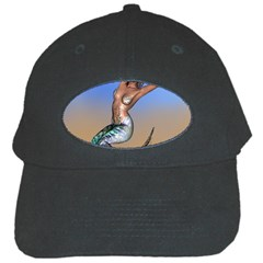 Sexy Mermaid On Beach Black Baseball Cap