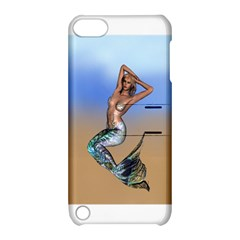 Sexy Mermaid On Beach Apple iPod Touch 5 Hardshell Case with Stand