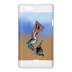 Sexy Mermaid On Beach Sony Xperia Miro Hardshell Case