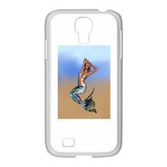 Sexy Mermaid On Beach Samsung GALAXY S4 I9500/ I9505 Case (White)