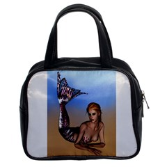 Mermaid On The Beach  Classic Handbag (Two Sides)