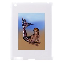Mermaid On The Beach  Apple iPad 3/4 Hardshell Case (Compatible with Smart Cover)