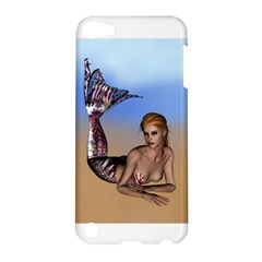 Mermaid On The Beach  Apple Ipod Touch 5 Hardshell Case
