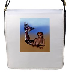 Mermaid On The Beach  Removable Flap Cover (small)