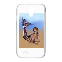 Mermaid On The Beach  Samsung Galaxy S4 Classic Hardshell Case (pc+silicone)