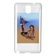 Mermaid On The Beach  Samsung Galaxy Note 3 N9005 Hardshell Case