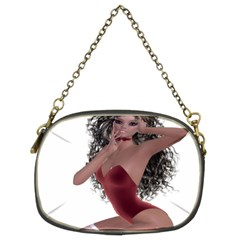Miss Bunny in red lingerie Chain Purse (Two Sided)