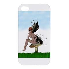 Fairy Sitting On A Mushroom Apple iPhone 4/4S Hardshell Case