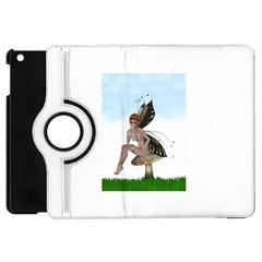 Fairy Sitting On A Mushroom Apple iPad Mini Flip 360 Case