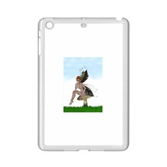 Fairy Sitting On A Mushroom Apple iPad Mini 2 Case (White)
