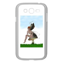 Fairy Sitting On A Mushroom Samsung Galaxy Grand Duos I9082 Case (white)