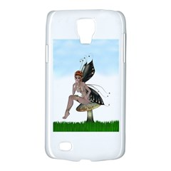 Fairy Sitting On A Mushroom Samsung Galaxy S4 Active (I9295) Hardshell Case