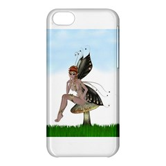 Fairy Sitting On A Mushroom Apple iPhone 5C Hardshell Case
